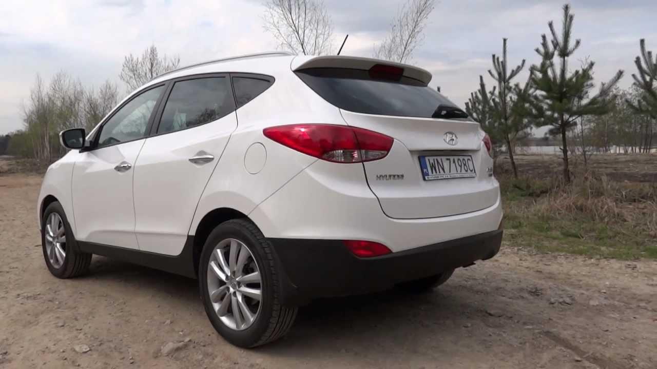 Hyundai Ix35 1 7 Crdi Style Youtube