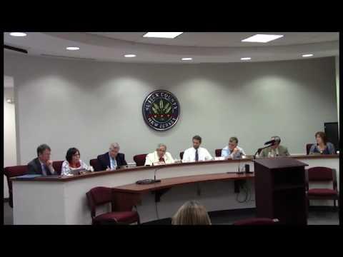 July 12 2017 Sussex County Board of Chosen Freeholders