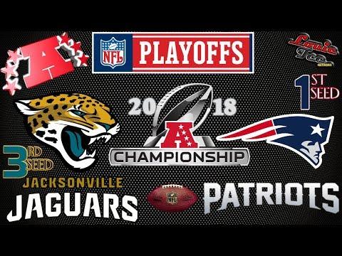 2018 NFL Playoffs  AFC Championship Game   Jaguars vs. Patriots   Preview & Prediction 🏈🏈🏈