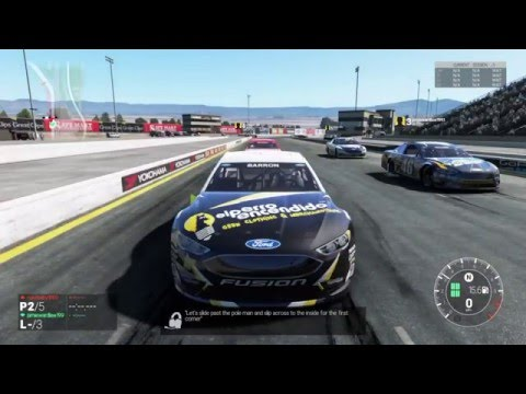Project Cars New Nascar Ford Fusion Lap Race Sonoma Us Car