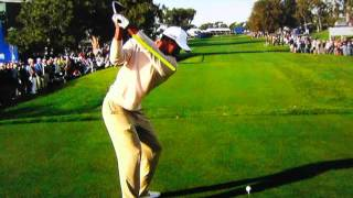 Tiger Woods - Ultra Slow Motion (driver) Torrey Pines (1-25-2013)