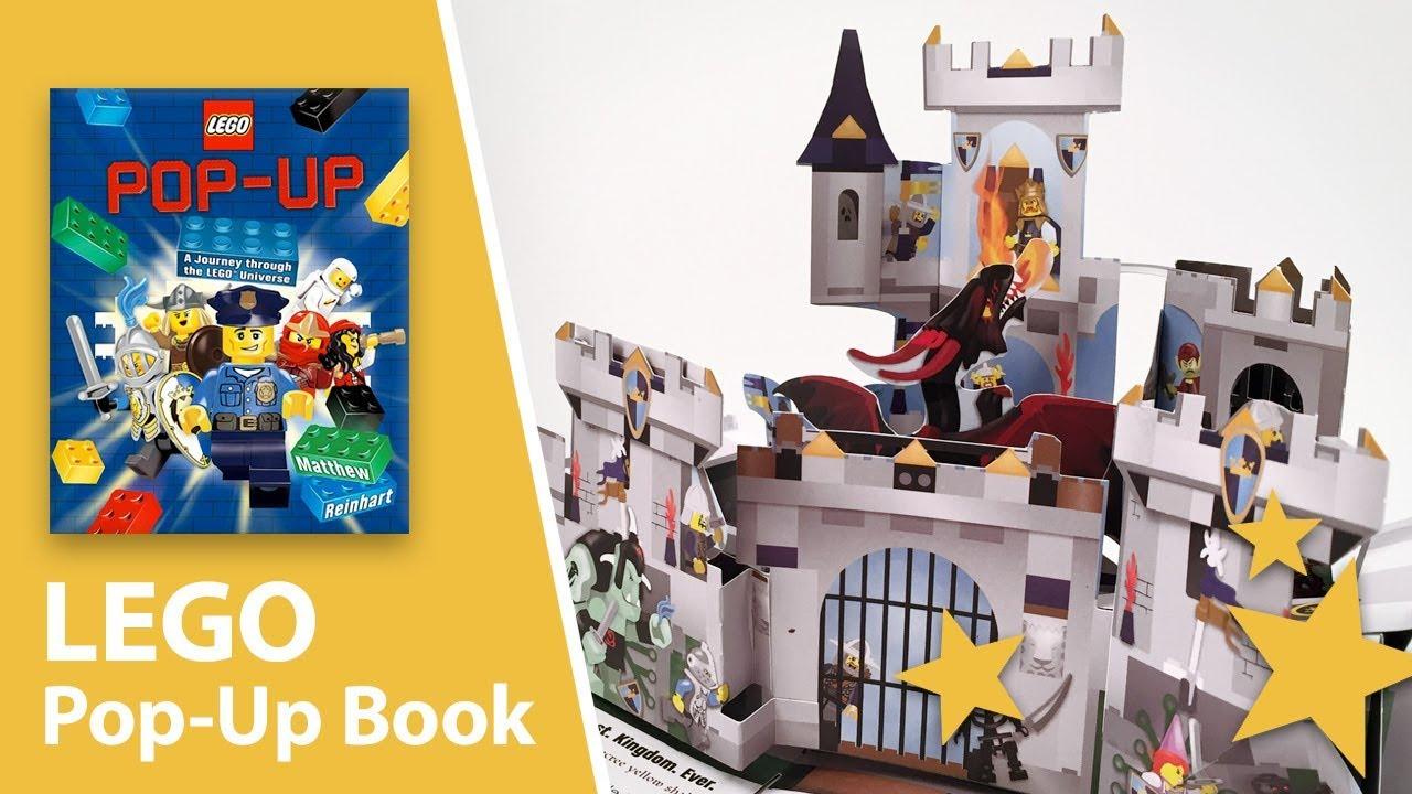 Lego Pop Up A Journey Through The Lego Universe By Matthew Reinhart