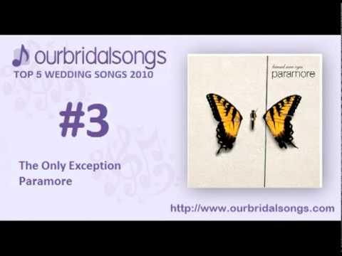 Top 5 Wedding Songs 2010