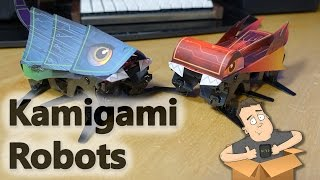 Playing with my Kamigami Robots - Sponsored