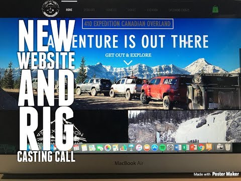 410X Presents: New Website Beta and Rig Casting Call
