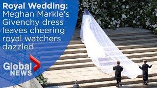 Royal Wedding: Meghan Markle's wedding dress revealed