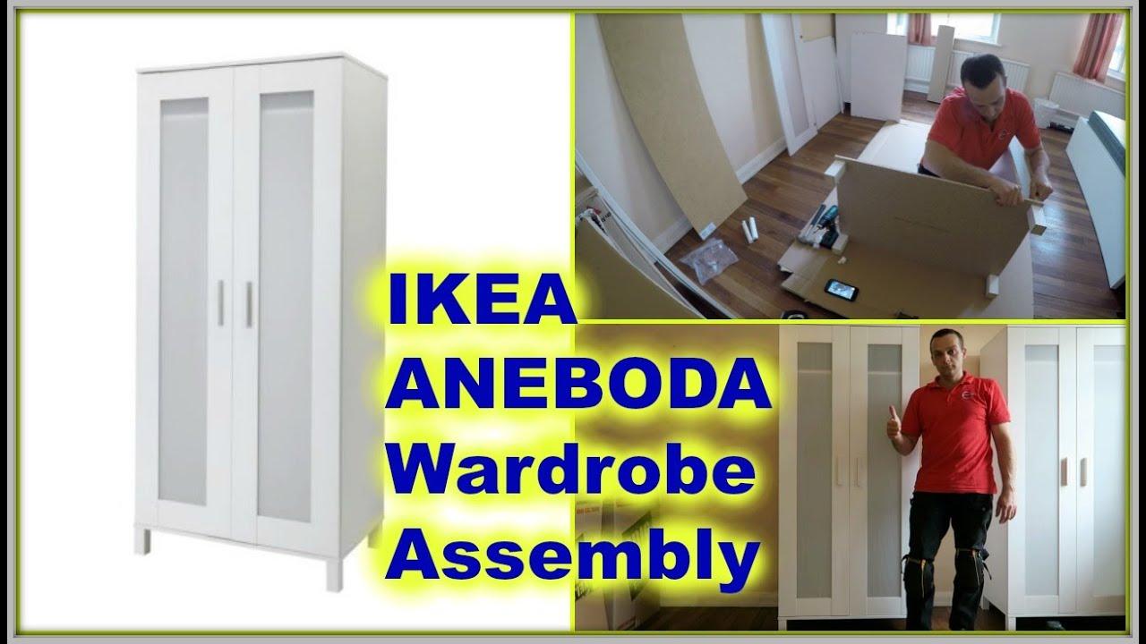 Wonderbaar IKEA ANEBODA Wardrobe - YouTube LF-85