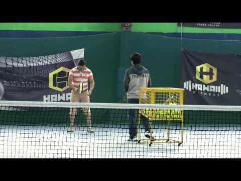 TV9 ene ugluu   Talbain tennis
