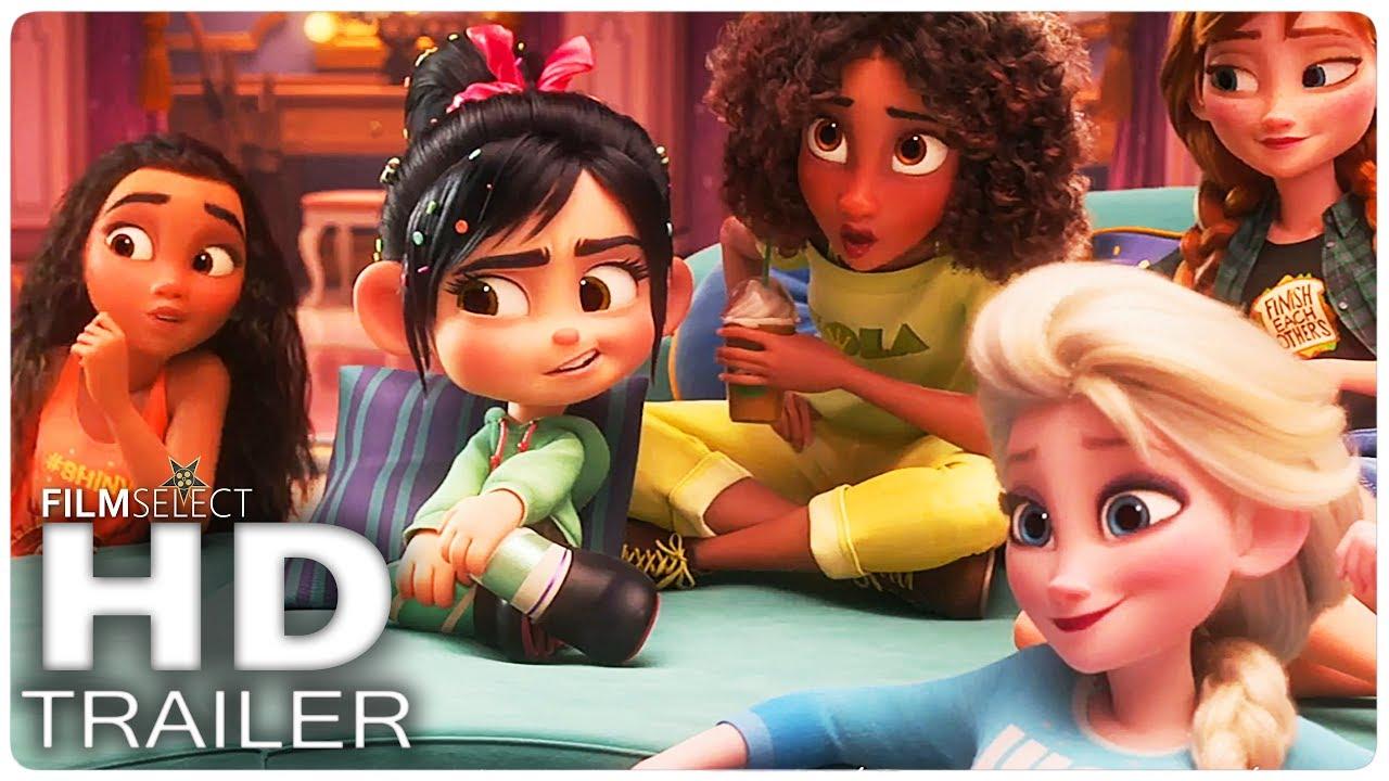 WRECK IT RALPH 2 Trailer 3 Español (2018)
