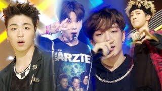 《EXCITING》 iKON - B-DAY (벌떼) @인기가요 Inkigayo 20170702
