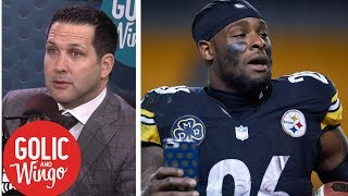 Steelers listening to trade offers for Le'Veon Bell | Golic & Wingo | ESPN thumbnail