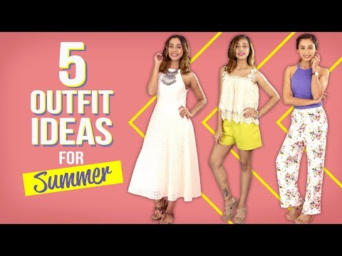 5 Outfit Ideas for Summer | Fashion | Pinkvilla | Summer Fashion