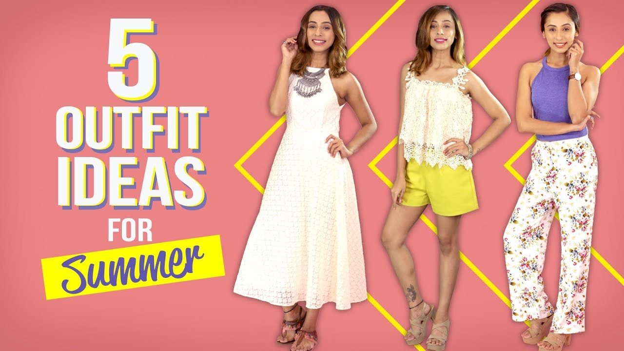 [VIDEO] - 5 Outfit Ideas for Summer   Fashion   Pinkvilla   Summer Fashion 3