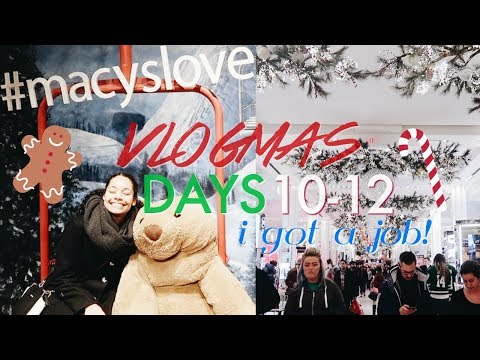 I GOT MY DREAM JOB! | Vlogmas Days 10-12