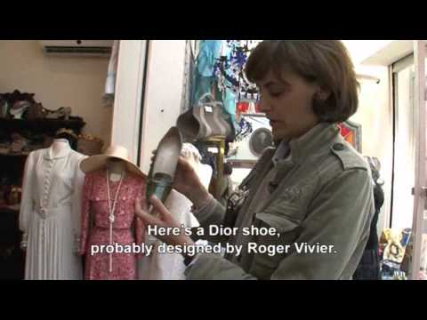 Flea Market Shopping with Ines de la Fressange