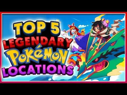 Top 5 LEGENDARY Pokémon Locations!