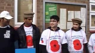 Report: Poppy Appeal and Fund Raising by Ahmadiyya Muslim Community