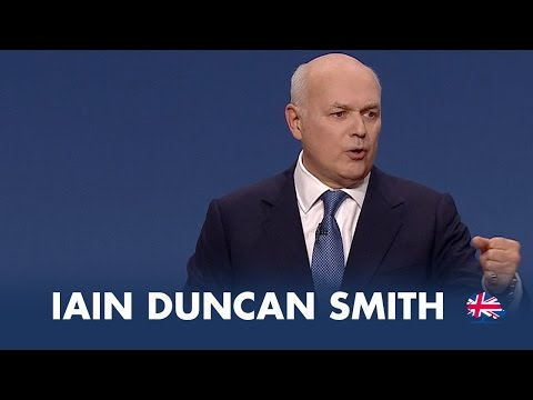 Iain Duncan Smith: Speech to Conservative Party Conference 2014