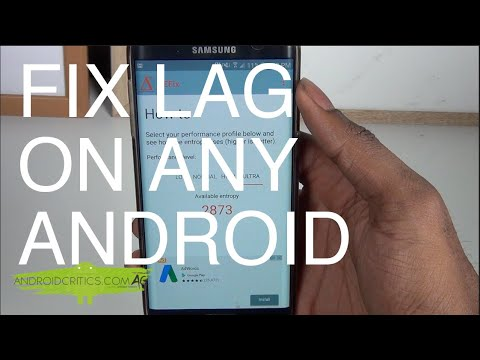How To Fix LAG On Any Android Phone  Make Your Android Faster!