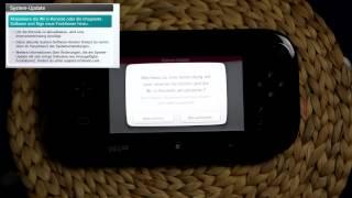 Wii U - Erster Start + System Einrichtung und New Super Mario U Start!