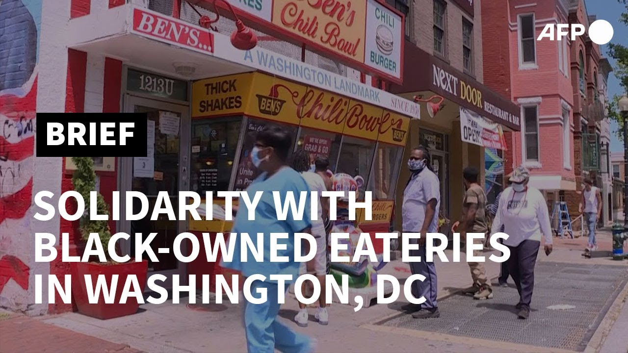 Black-owned eateries buoyed by grassroots support in Washington, DC | AFP