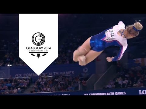Slow motion Gymnastics Beam - 1000 frames per second | Glasgow Super SlowMo