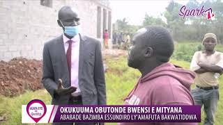 Waliwo abakwatiddwa e Mityana lwa kuzimba ssundiro ly'amafuta mu lutobazi