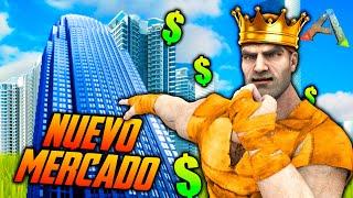 ARK - CONSTRUYO EL NUEVO MERCADO 😁😁 #35 ARKEANOS ENFRENTADOS