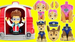 Baby Learn Colors, Baby Skye Best Learning Colors Video for Children Paw Patrol Pup House Match