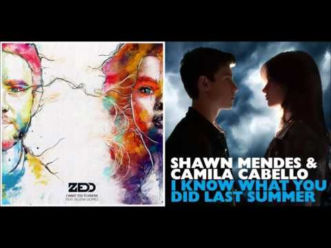 Zedd Vs. Shawn Mendes - I Want You To Know What You Did Last Summer (Mashup Concept)