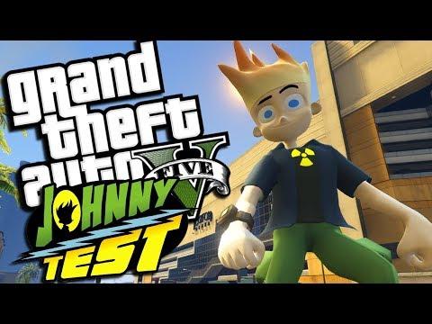 The ULTIMATE Johnny Test MOD W/ Super Powers (GTA 5 PC Mods Gameplay)