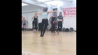 Julia Grubbs in Josh Bergasse Class 08/01/2019