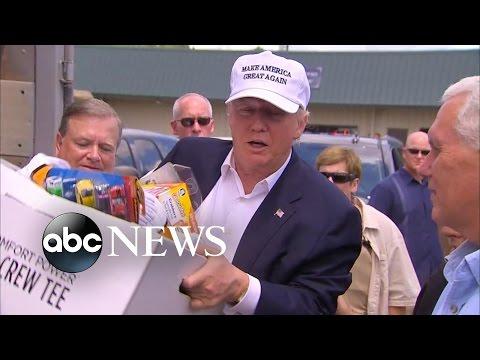 Trump Slams Obama for Not Visiting Flood-Ravaged Louisiana