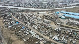 Кирзавод район города Улан Удэ 4K HDR