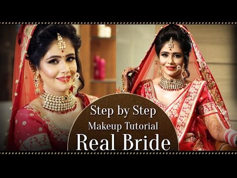 Real Bride Step By Step Makeup Tutorial