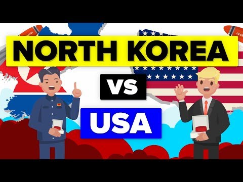 North Korea vs United States - Updated (2018) - Military Comparison