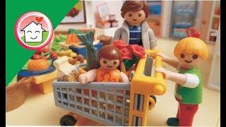 عائلة عمر رايحة السوبر ماركت - عائلة عمر - أفلام بلاي موبيل للأطفال