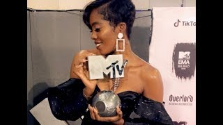Tiwa Savage wins Best African Act at MTV EMA
