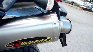 KTM 950 Adventure avec silencieux Akrapovic