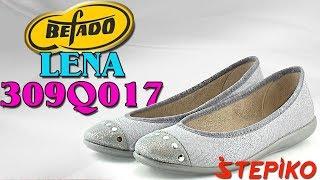 Женские текстильные балетки Befado Lena 309Q017. Видео обзор от WWW.STEPIKO.COM