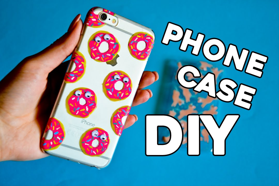 huge discount 6263d 8bc17 DIY DONUTS PHONE CASE | DECORATE YOUR PHONE CASE - midiy