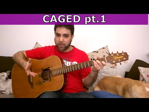 Finally Understanding The CAGED Method Logic - Guitar Chords Lesson Tutorial