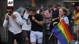 Turkey: Pride event stopped by police
