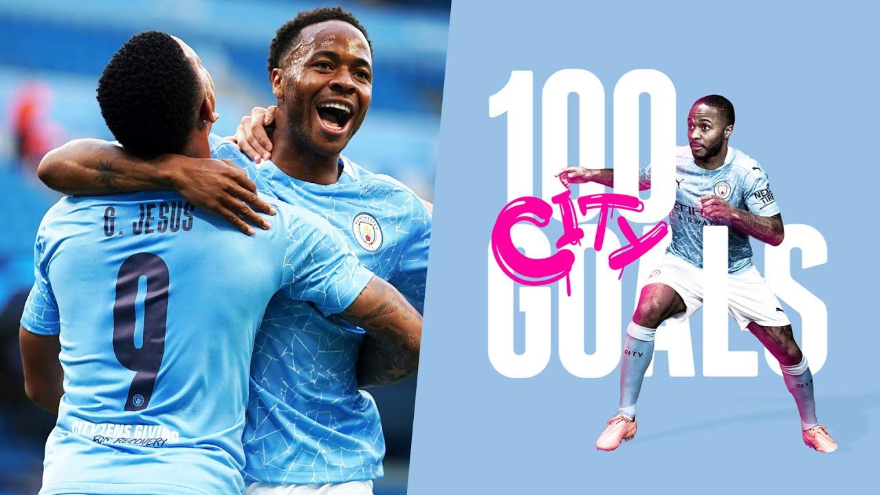 RAHEEM STERLING | 100 GOALS FOR CITY | MAN CITY