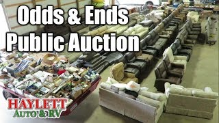 Haylett RV Parts Auction for Overstocked Odds and Ends Saturday Aug 17th at 10am