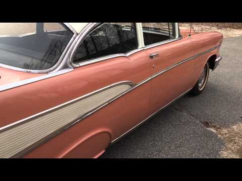 1957 Chevy Belair  2-dr barn find. 1-owner original Georgia car for sale ..706-831-1899
