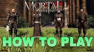 mortal Online HOW TO PLAY Полный гайд и руководство