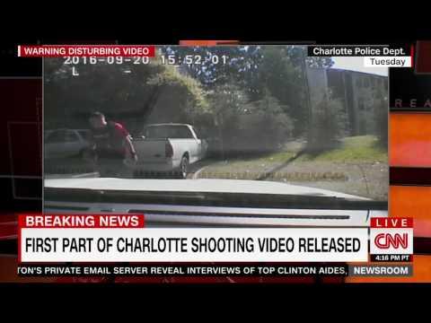 Dash Camera Video of Keith Lamont Scott Shooting (CNN)