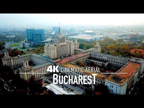 BUCHAREST București  4K Drone ROMANIA UHD