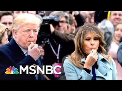 President Trump Talks Economy & Military To Kids At WH Easter Egg Roll   The 11th Hour   MSNBC